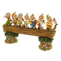''Homeward Bound'' Seven Dwarfs Figurine by Jim Shore | Disney Store