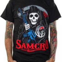 ROCKWORLDEAST - Sons Of Anarchy, T-Shirt, Bold Reaper
