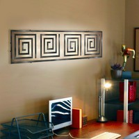 Illuminada - Geo II Wall Sconce Light (8814) - Wall Sconce Lights