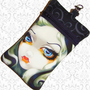 Cell phone bag, Blue eyed vampire girl,  Jasmine Becket-Griffith