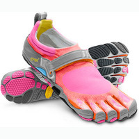 Vibram FiveFingers Bikila Shoe (Women's) - Barefoot Shoes - Rock/Creek