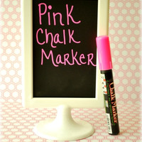 Chalk Ink Pen - PINK Bistro Chalk Marker - Chalkboard Labels - Chalk Marker - Chalk Pen
