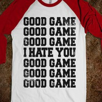 Good Game (I Hate You) - Sports Fun