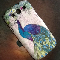 The Bird Vintage Style  :Samsung Galaxy S3 case, Samsung Galaxy S3  hard case , Galaxy S3 case decoupage, Samsung Galaxy S3 case by BanSom