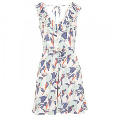 Iris print jersey dress, Day, Harvey Nichols Store View