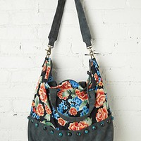 Free People Palm Tree Tote