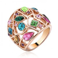 Multicolor Stone Ring
