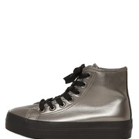 Vero Platform Sneaker - Pewter - Accessories | GYPSY WARRIOR