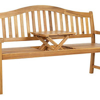 One Kings Lane - Outdoor Planning - Mischa Bench, Teak