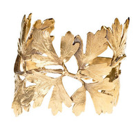 Alkemie Jewelry Ginkgo Leaf Cuff