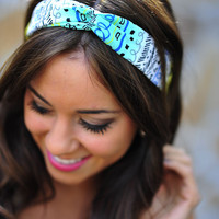Come To Life Headband: Aqua | Hope's