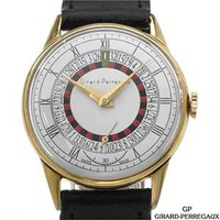 GIRARD PERREGAUX Made In Switzerland Stainless Steel Watch - Swiss Made Watches: Bvlgari, Chopard, Rolex, and more - Modnique.com