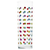 Polka Dot Glass 13.5oz, Dinnerware, Polka Dot at www.fishseddy.com.