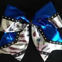 Cheer/cheerleading hair bow ribbon custom bows