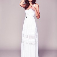 Free People Jill&#x27;s Limited Edition White Story Dress