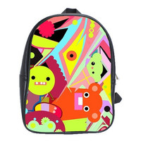 School Bag, Back to school ,Back Pack - Cool Graffiti Design