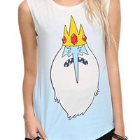 Adventure Time Ice King Sleeveless T-Shirt Top - 300905