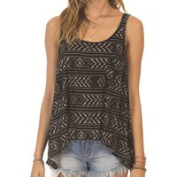 Billabong Here We Are Cami - Black/White - J9031HER				 |  			Billabong 					US