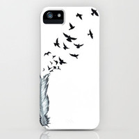 Feather iPhone Case by bakedprincess