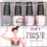 OPI Femme De Cirque SoftShades 2011 Mini Nail Lacquers Set, 1- 4 pc set
