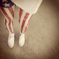 Belle La Vie Boutique  Fourth Of July Leggings