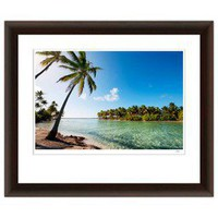 Jesse Kalisher Framed Art - Palm Trees On The Beach
