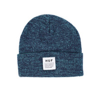 HUF - HUF MIXED YARN BEANIE // NAVY