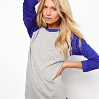 ASOS Baseball Top at asos.com