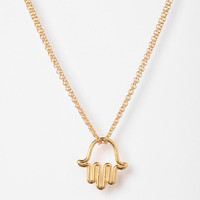 Urban Outfitters - Adina Reyter Tiny Hamsa Necklace