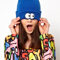 Lazy Oaf Eyeball Beanie Hat