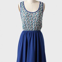 estella floral print dress at ShopRuche.com