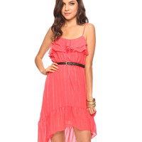 Jacquard Chiffon Peasant Dress | FOREVER21 - 2011407983