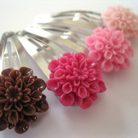 Resin Snap Clip Collection Pinks and Browns Resin by Rotifera