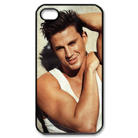 Magic mike Channing tatum 02 Shirtless iphone 4 4s black or white case