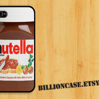 Nutella - iPhone 4 Case iPhone 4s Case iPhone 5 Case idea case Galaxy Case