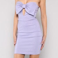 Fitted Bow Dress