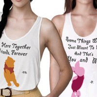 Pooh &amp; Piglet - Besties Tanks