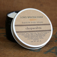 Chupacabra Cream with Organic Aloe Juice hand body Lotion