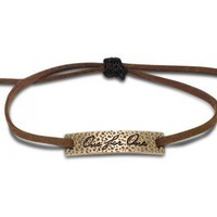 One for One Hammered Bronze Bracelet | TOMS.com