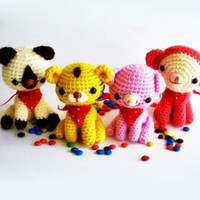 Buy Animal Friends pattern - AmigurumiPatterns.net