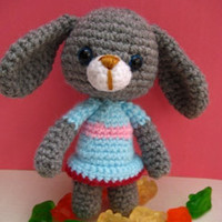 Buy Vicky Bunny pattern - AmigurumiPatterns.net