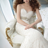 Bridal Gowns, Wedding Dresses by Jim Hjelm - Style jh8210