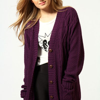 Renee Boyfriend Cardigan