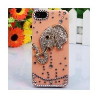 Amazon.com: i-Jew Series Shining Rhinestones Case for iPhone 5 Case (Indian Elephant Body Jewelry on Case) *** Coral Color Case ***: Everything Else