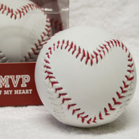 Hallmark MVP of My HEART Stitched BASEBALL Easter Sweetheart Gift Valentines Day