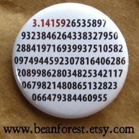 it's pi - pinback button badge