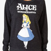 Alice In Wonderland Pullover | FOREVER 21 - 2027704242
