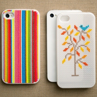 Imported DIY Cross Stitch iPhone Case