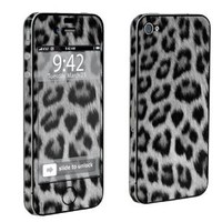 Amazon.com: Apple iPhone 4 or 4s Full Body Decal Vinyl Skin - Black Cheetah By SkinGuardz: Cell Phones & Accessories