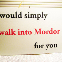 Nerd love greeting card I would simply walk by InsomniaStudios